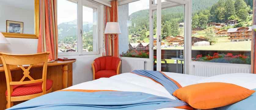 Hotel Derby, Grindelwald, Bernese Oberland, Switzerland - bedroom.jpg